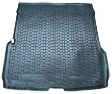 AvtoGumm Резиновый коврик в багажник Mercedes GLS X167 (сложенный 3-й ряд, большой)
