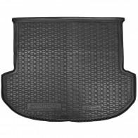 AvtoGumm Резиновый коврик в багажник Hyundai Santa Fe 2021- (5-ти местный)