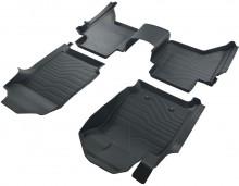 Коврики резиновые 3D LUX для Ford Ranger 2011-