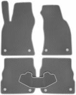 EVA Коврики в салон AUDI A6 С5 1997-2004 (передний привод)(серые)