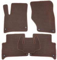 Коврики в салон AUDI Q7 2005-2015 (коричневые)