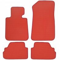 Коврики в салон BMW 1-Series (E-87) 2004-2012 (красные)