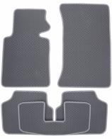 Коврики в салон BMW 3-Series (E46) 1998-2006 (серые)