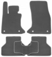Коврики в салон BMW 5-Series (E-60) 2003-2010 (серые)
