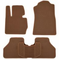 Коврики в салон BMW X3 (F25) 2010-2017 (коричневые)