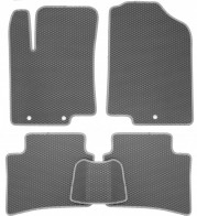 EVA Коврики в салон Hyundai Accent (Solaris) 2011-2017 (серые)