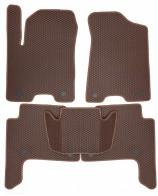 EVA Коврики в салон Infiniti QX56 QX80 2010- (коричневые)