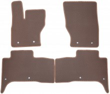 Коврики в салон Land Rover Range Rover Sport 2013- (коричневые)