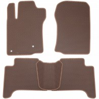 Коврики в салон Lexus GX 460 2010- (коричневые)