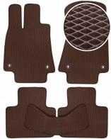 Коврики в салон Lexus IS 2013- (коричневые)