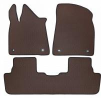 Коврики в салон Lexus RX 350 2015- (коричневые)