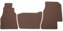 Коврики в салон Mercedes Sprinter 2000-2006 (рычаг на панели) коричневые