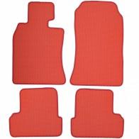 Коврики в салон Mini Cooper R50/R52/R53 2001-2006 (красные)