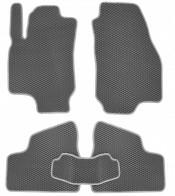 Коврики в салон Opel Astra G 1998-2009 (серые)