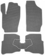 EVA Коврики в салон Skoda Fabia 1999-2007 (серые)