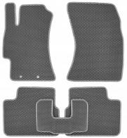 Коврики в салон Subaru Impreza 2007-2012 (серые)