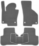 Коврики в салон Volkswagen Passat B6 2005-2010 (серые)