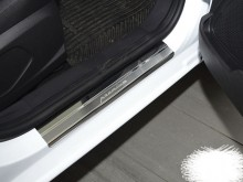 Nataniko Накладки на пороги Toyota LAND CRUISER 150 FL 2017- (PREMIUM)