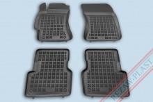 Резиновые коврики глубокие Subaru Forester 2003-2008 Rezaw-Plast