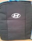 Prestige LUX Чехлы на сиденья Hyundai Accent 2010-2017 (деленная спинка)
