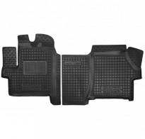 Резиновые коврики Peugeot Boxer 2021- (с органайзером)