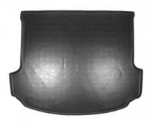 Резиновый коврик в багажник Acura MDX 2007-2013 (сложенный 3 ряд)