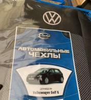 Prestige LUX Чехлы на сиденья Volkswagen Golf 6 (без подлокотника)
