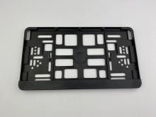 Рамка для номера (без логотипа) чёрная USA