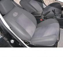 Prestige LUX Чехлы на сиденья Kia Rio HB (деленная) 2011-