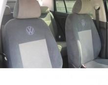 Чехлы на сиденья Volkswagen Polo Sedan (деленная) Prestige LUX