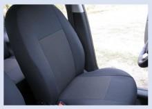 Чехлы на сиденья Chevrolet Lacetti (светло-серые) Prestige LUX