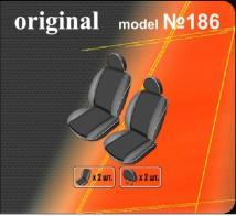 DeLux Чехлы на сиденья Fiat Doblo Panorama 2001-2015 (1+1 передние)