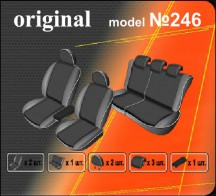EMC Чехлы на сиденья Ford Focus 2011- HB