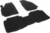 Глубокие резиновые коврики в салон Hyundai Matrix