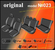 EMC Чехлы на сиденья Mitsubishi Pajero Wagon 2007- (7)