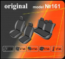 Чехлы на сиденья Opel Zafira A 5 мест EMC