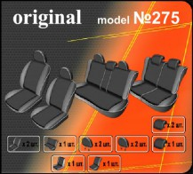 Чехлы на сиденья Opel Zafira B 7 мест EMC