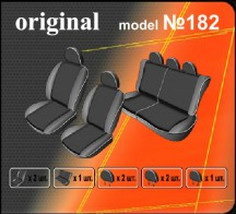 EMC Чехлы на сиденья Renault Logan MCV 2004-2013 (5) раздельный