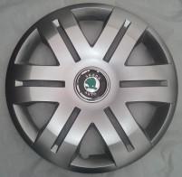 SKS (с эмблемой) Колпаки Skoda 406 R16 (Комплект 4 шт.)