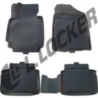 Глубокие резиновые коврики в салон Hyundai Veloster (11-)