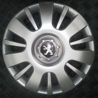 SKS (с эмблемой) Колпаки Peugeot 407 R16 (Комплект 4 шт.)