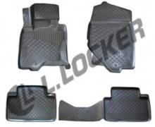 Глубокие резиновые коврики в салон Infiniti FX 2008-2012 QX70