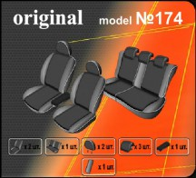 Чехлы на сиденья Seat Altea XL 2007- EMC