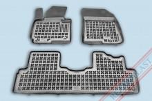 Резиновые коврики глубокие Kia Carens 2013-