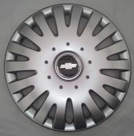 Колпаки Chevrolet 306 R15 (Комплект 4 шт.) SKS (с эмблемой)