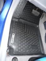 L.Locker Глубокие резиновые коврики в салон Kia Picanto (04-)