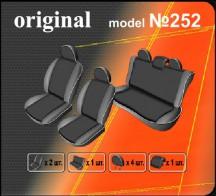 Чехлы на сиденья Volkswagen Polo Sedan 2010- (цельная спинка) EMC