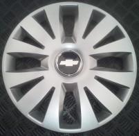 Колпаки Chevrolet 324 R15 (Комплект 4 шт.) SKS (с эмблемой)