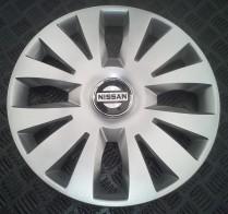 SKS (с эмблемой) Колпаки Nissan 324 R15 (Комплект 4 шт.)