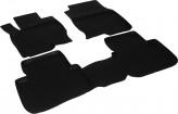 L.Locker Глубокие резиновые коврики в салон Mitsubishi Colt 2003-